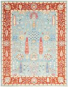 Hand-knotted Carpet 9'1 X 11'6 Traditional Oriental Wool Area Rug