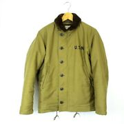 The Real Mccoyand039s Auth Sx88297 Mj13111 N-1 Deck Jacket Khaki 36 Used From Japan