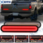 Led Strobe Brake Flowing Turn Signal Rear Tail Light For Ford F-150 F-250 Truck