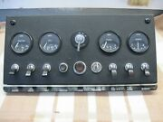 Jaguar E-type Xke Series 1 Dashboard Console Looks About As Good As It Gets