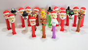 Pez Dispensers Lot Of 22 Holiday Christmas Halloween Easter Hungary Austria