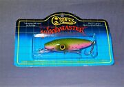 Ozark Mountain Discontinued Wood Master Rainbow Trout Lure