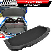 Fits 02-06 Acura Rsx Black Oe Style Rear Trunk Privacy Luggage Cargo Cover