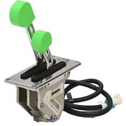Livorsi Boat Throttle Control Dtsbb11l | Dual Handle Stainless Lime