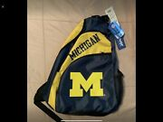 University Of Michigan Shoulder Tote/ Backpack W/tags