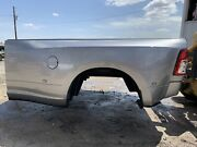 19-21 New 8' Dodge Ram Dually Long Box Silver Rust Free Bed And Lights 3500 Drw