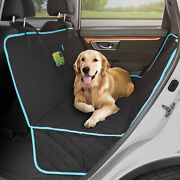 Car Seat Cover For Dogs Rear Bench Hammock Auto Pet Seat Protector Truck Van Suv