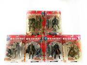 Metal Gear Solid 2 Set 6 Pieces Action Figures 7 1/8in Mc Farlane Mgs 2