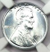 1943 Lincoln Wheat Cent Steel Penny 1c - Certified Ngc Ms68 - 3,200 Value
