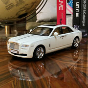 New 118 Kyosho Rolls Royce Ghost Open Close Diecast Car Model English White