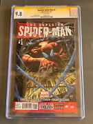 Superior Spiderman 1 Cgc 9.8 Signed By Stan Lee