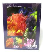 Julie Satinover Symphony In G Floral 1000 Piece Puzzle New Flowers Springtime