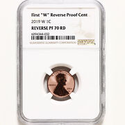 2019 W Lincoln Shield Cent Ngc Pf70 Reverse Proof
