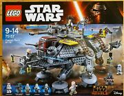Lego 75157 Star Wars Captain Rexand039s At-te New Retired Set Sealed