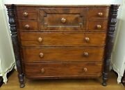 Superb Quality Victorian Mahogany Chest Of Drawers By Samuel Field Mcintyre
