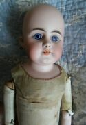 Awesome Early Simon And Halbig Bisque Doll, A Real Beauty, 1880