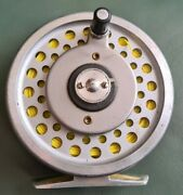 Vintage Hardy Marquis 7 Multiplier Fly Reel In Good Condition In Makers Pouch.