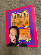🔥max Maven Fortune-telling Handbook First Edition Mint Condition/mind Reading