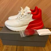Alexander Mcqueen Sneakers Shoes Oversized Runner Red White Eu 43 From Japan