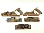 Mixed Antique Lot Stanley No 78 Unbranded England Usa Rebate Plane Planers Parts