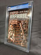 Raphael 1 - Mirage 1985 Cgc 9.2 1st Spin-off 1st App Casey Jones White Pages