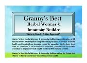 Grannyandrsquos Best Herbal Wormer And Immunity Builder For Animals