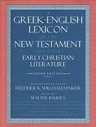 A Greek-english Lexicon Of The New Testament And Other Early Christian Litera…
