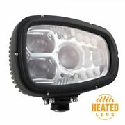 Grote Perlux 84631-5 Heated Led Snow Plow Lights Left/driver Side New
