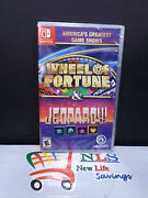 Nintendo Switch Americaand039s Greatest Game Shows Wheel Of Fortune And Jeopardy