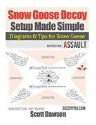 Snow Goose Decoy Setup Made Simple Diagrams And Tips For Snow Geese By Dawson,…