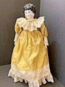 Antique German Hertwig Agnes China Head Doll 19