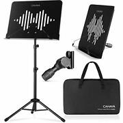 Sheet Music Stand Portable With Carrying Bag Metal Table Top Book Stand