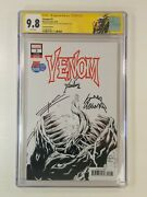Venom 3 Cgc 9.8 Ss Signed Cates Stegman Sdcc 2018 Previews Exclusive Px Variant