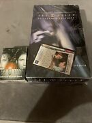 X Files Card Game Booster Box Sealed Plus Starter Deck Plus Promo Collectable