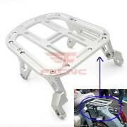 For Super Cub C125 Cnc Rear Pack Luggage Carry Shelf Tail Seat Frame Aluminum