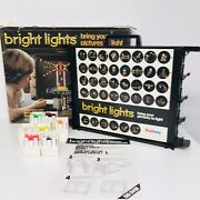 Vintage 1970-80s Palitoy Bright Lights Bring Your Pictures To Light Optical Toy