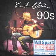 Kurt Cobain 90and039s Vintage T-shirt All Sport Used Genuine Free Shipping From Jpn