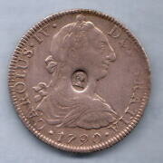Great Britain Geo 111 - Emergency Issue 1. Bust Countermark On Mexico 1790 8 Rl
