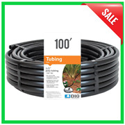 Poly Drip Tubing Hose 1/2 Inch 0.700 Od 100 Ft Emitter Garden Water Irrigation