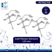 3pcs Set Surgical Judd Masson Retractor Spread 120 Mm Surgical Instruments
