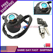 Fit For 91-11 Sportster Xl 883 Xr Xl 1200 Ignition Key Switch Tail Box Lock Set
