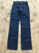 Vintage 70s Dee Cee Rappers Jeans Size 11-12 Nos Nwt 30 X 34 Deadstock
