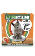Nib Cat Toilet Training System Litter Kwitter-teach Your Cat To Use The Toilet