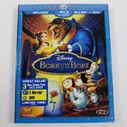 Beauty And The Beast 2 Blu-ray/1 Dvd 2010 3 Discdiamond Edition New And Sealed