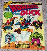 Marvel Treasury 12 Howard The Duck Too Large To Cgc Certify Nm Make Offer