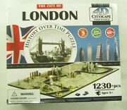 The City Of London History Over Time 4d Cityscape Time Puzzle 1230+ Piece Jigsaw