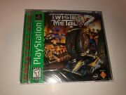 Twisted Metal 2 Greatest Hits Green Label Version Brand New Factory Sealed