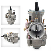 30mm Carburetor With Power Jet Fit For Motorcycle Scooter Atv High Performance