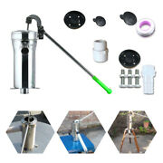 Stainless Steel Hand Deep Well Pump Manual Water Pump For Farm Industrial Work