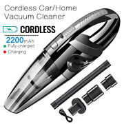Cordless Hand Held Vacuum Cleaner Mini Portable Car Auto Home Wireless Duster